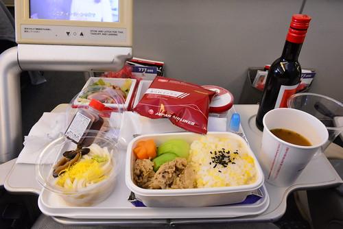 JL26の機内食