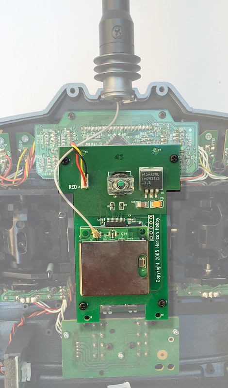 Spektrum DX6 RF module