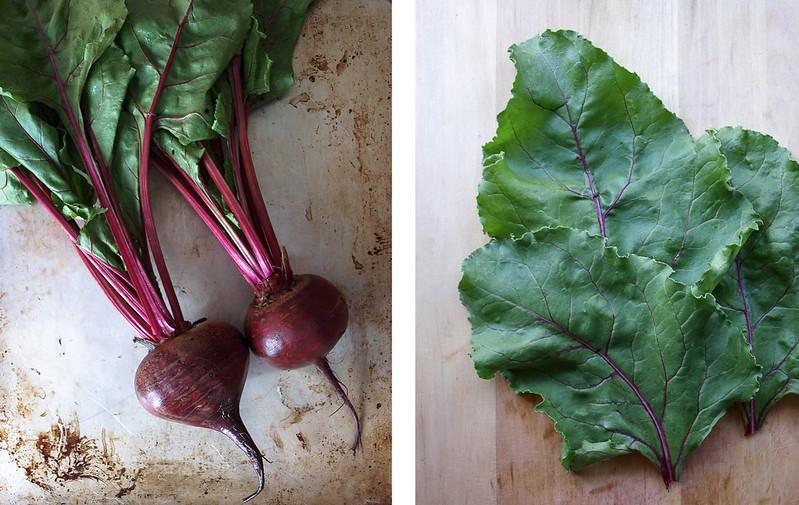 Detox Salad Beet Leaves