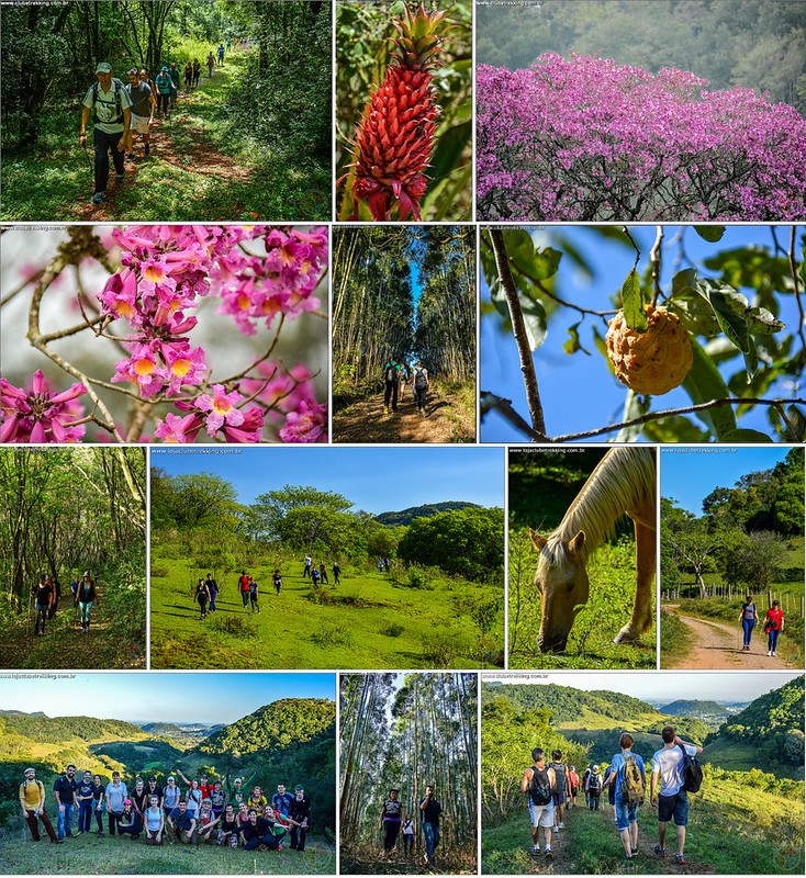 Trilha Santuário x Rincão do Meio x Cascata do Sapo - Itaara RS - Clube Trekking Santa Maria RS