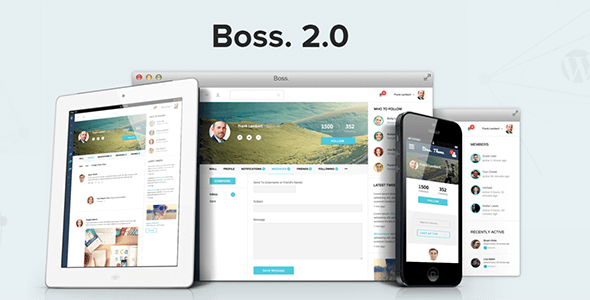 BuddyBoss Boss v2.1.3 - BuddyPress Theme