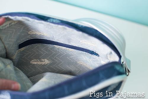Polaris bag inside zipper pocket