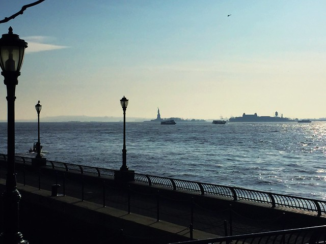 Statue of Liberty from Pumphouse Park