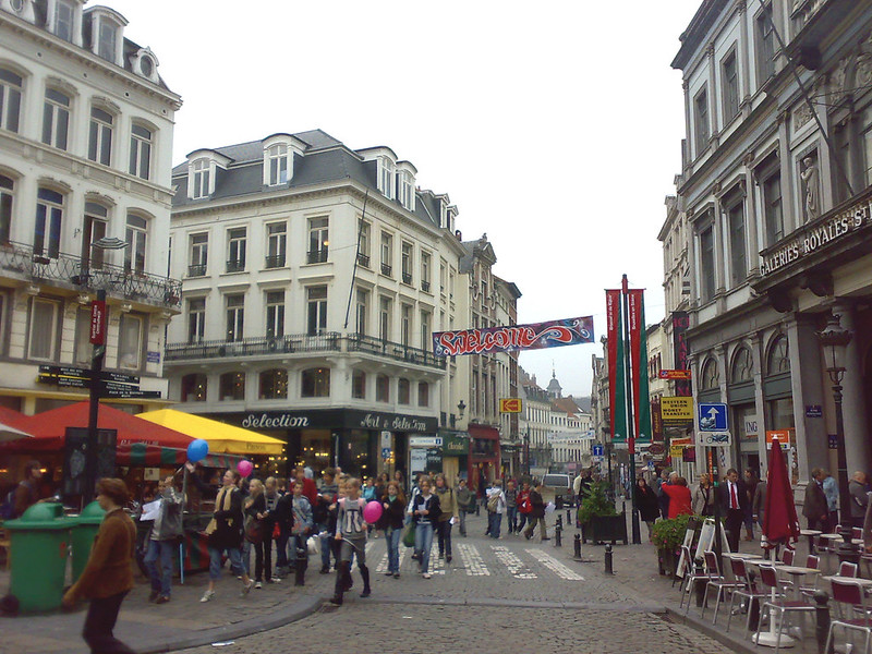 """""""Îlot Sacré"""" e Rue des Bouchers"""