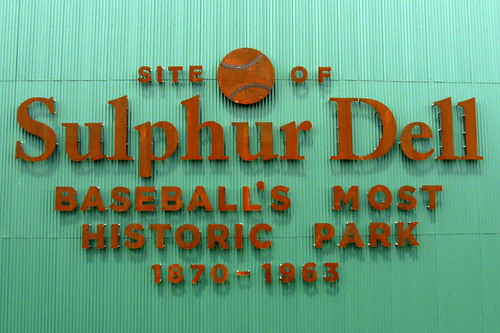 Site of Sulphur Dell - Nashville