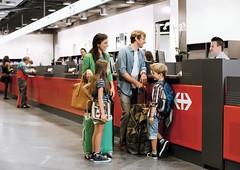 Součástí cestování Švýcarskem jsou dokonalé zavazadlovéslužby