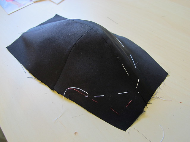 Butterick 6019 - In progress
