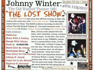 Johnny Winter The Lost Show