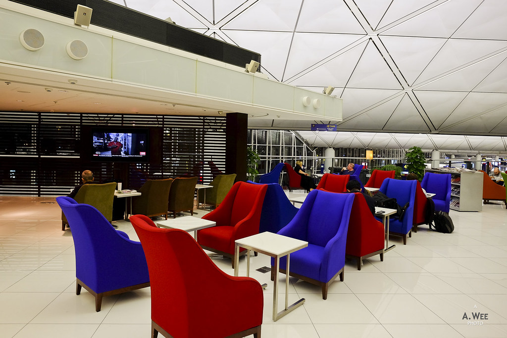 Business class lounge