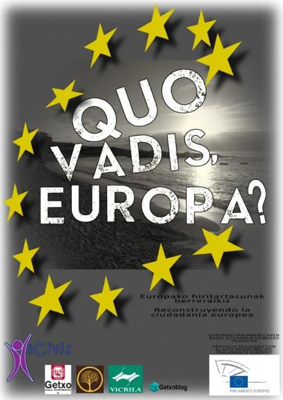 #GetxoEuropa Día de Europa Getxo: Campaña crowdfunding