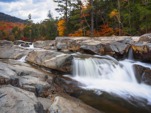 longexposure autumn trees fall nature water leaves clouds creek forest river landscape us waterfall oak unitedstates newengland newhampshire nh olympus foliage granite albany lowerfalls omd kancamagushighway swiftriver em5 1250mmf3563mzuiko