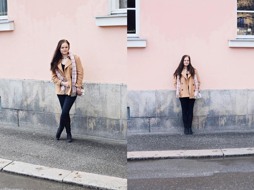 Vaaleanupunainen seinä