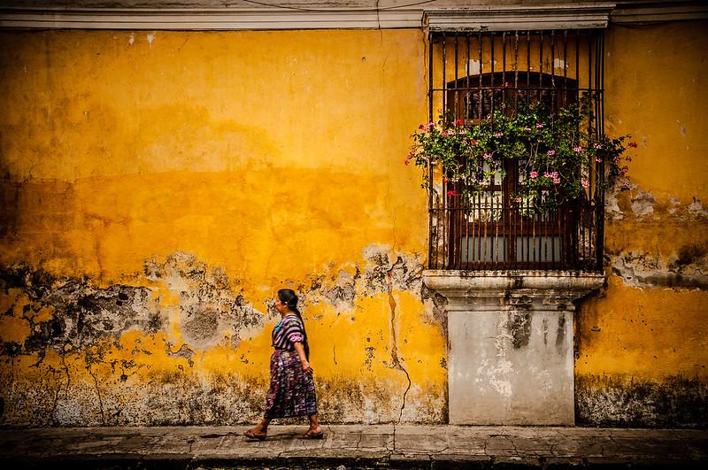 Strolling about, Antigua Guatemala