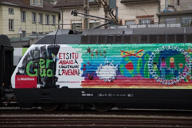 SBB Re 460 099 Die Mobiliar / Gottardo2016