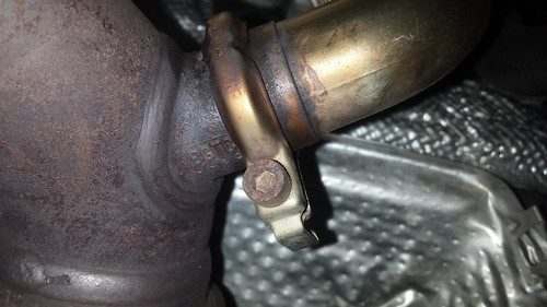 Egr filter replacement