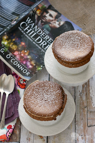 Chocolate Souffles inspired by The Wanderer's Children