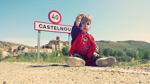 #CarlaGuimerá en #Castelnou. #avistaderaton