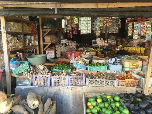 Bali, lokale markt in Seririt