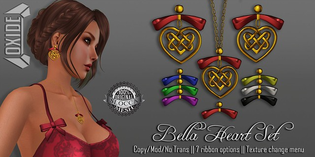 OXIDE Bella Heart Set