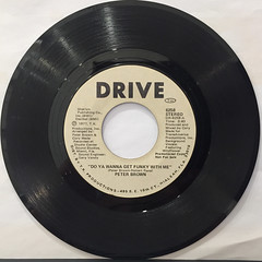 PETER BROWN:DO YOU WANNA GET FUNKY WITH ME(RECORD SIDE-B)
