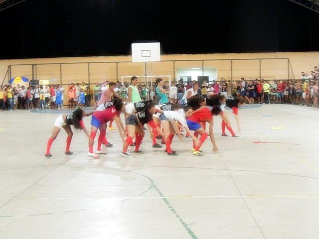 Abertura dos Jogos Escolares 2016