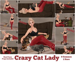 LAST DAY - nani - crazy cat lady @ Oh My Gacha