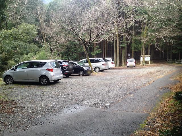 池田山 大津谷登山口 駐車場