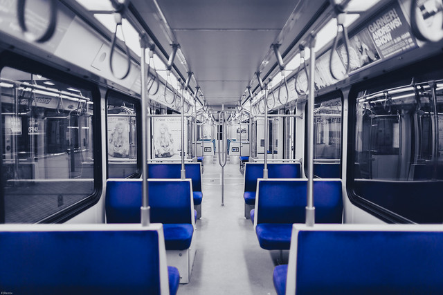 Late Night Ride on Transit