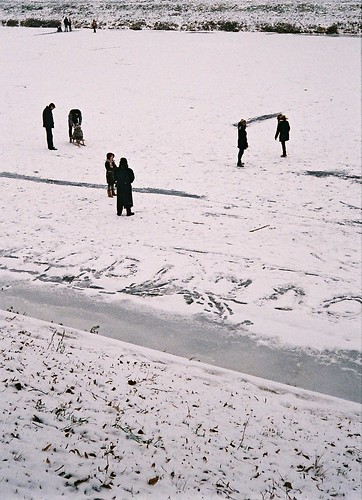 street camera winter film 35mm photo foto frame half uzhgorod trascarpathia