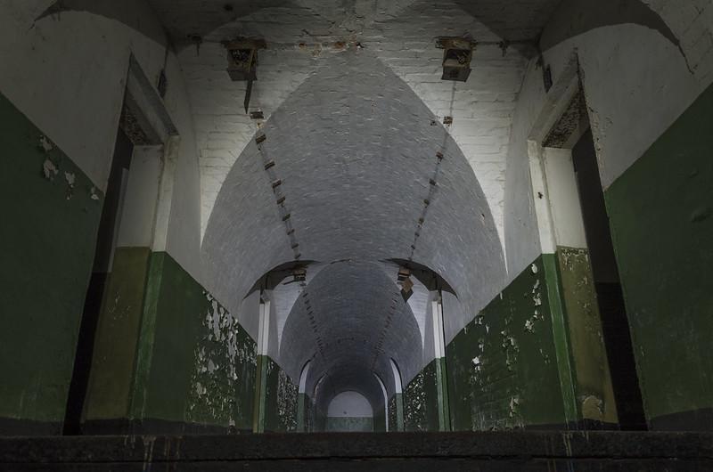 Inside Fort VIII of Brest Fortress, 05.05.2014.