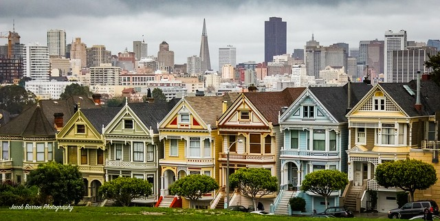 Architecture-Jacob Barron-Painted Ladies