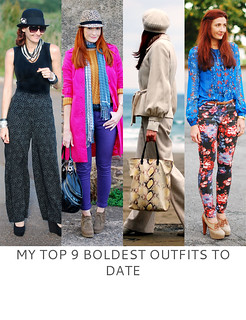 Not Dressed As Lamb | My Top 9 Boldest Outfits to Date