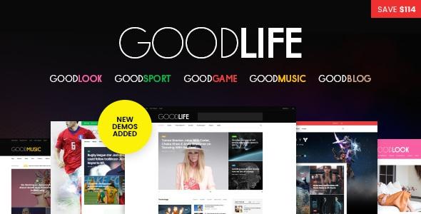 GoodLife v1.2.0 - Responsive Magazine Theme