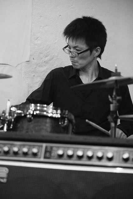 鈴木Johnny隆バンド live at Golden Egg, Tokyo, 31 Jan 2016. 7M2-00213