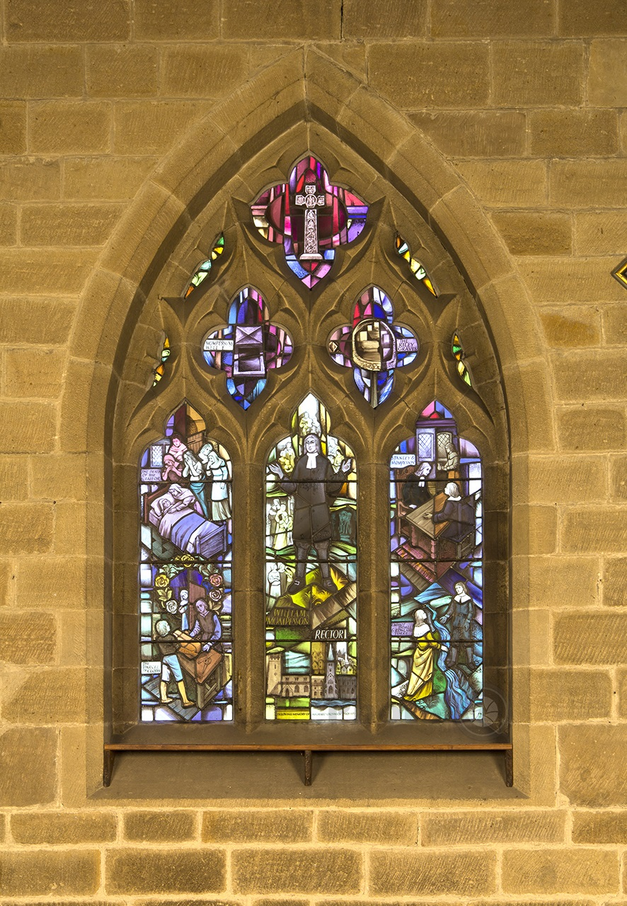 Eyam Church Plague Window