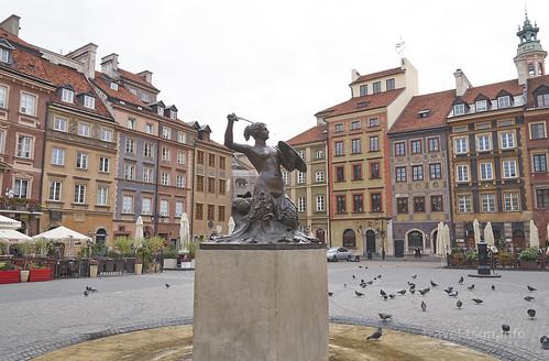 【写真】東欧周遊 : ワルシャワ・旧市街