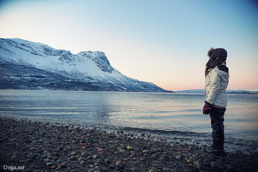 2016.02.23▐ 看我歐行腿 ▐ 阿呀~一不小心就從瑞典到了挪威, Narvik 小鎮遇見地理課本中的峽灣 01.jpg