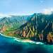 Na Pali Coast, Kauai, Hawaii by dhilung