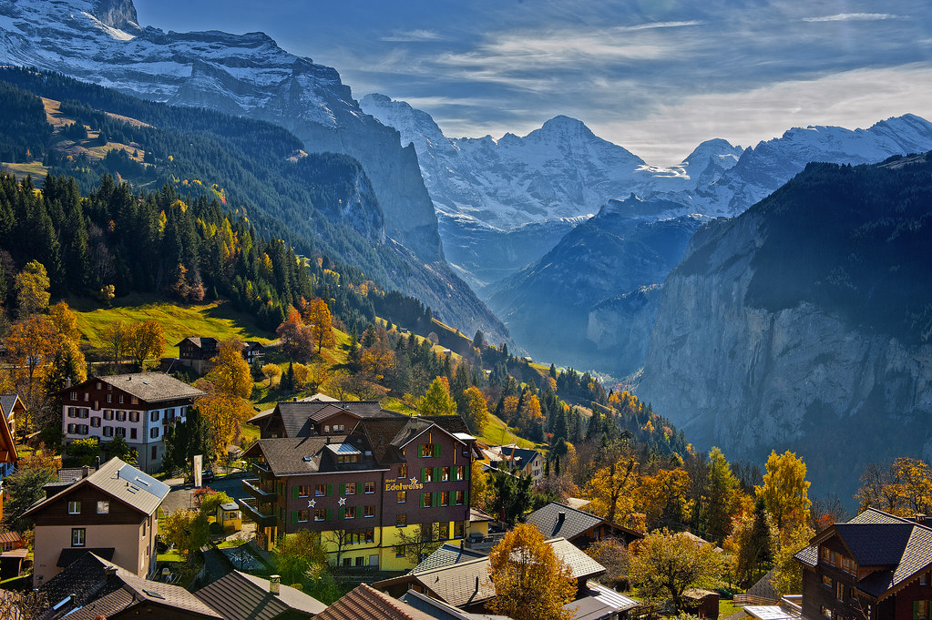 Elevation of Selden Lauterbrunnen Switzerland MAPLOGS