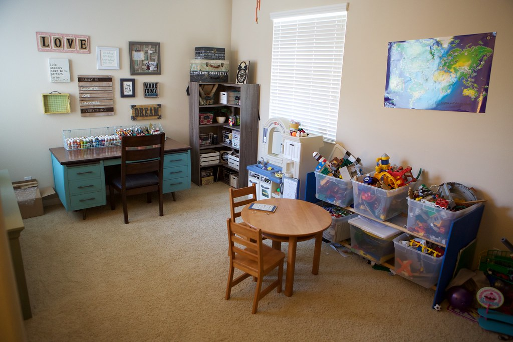 Craft room and play room