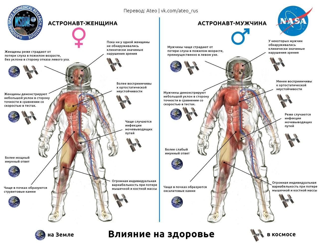 Секс в космической невесомости