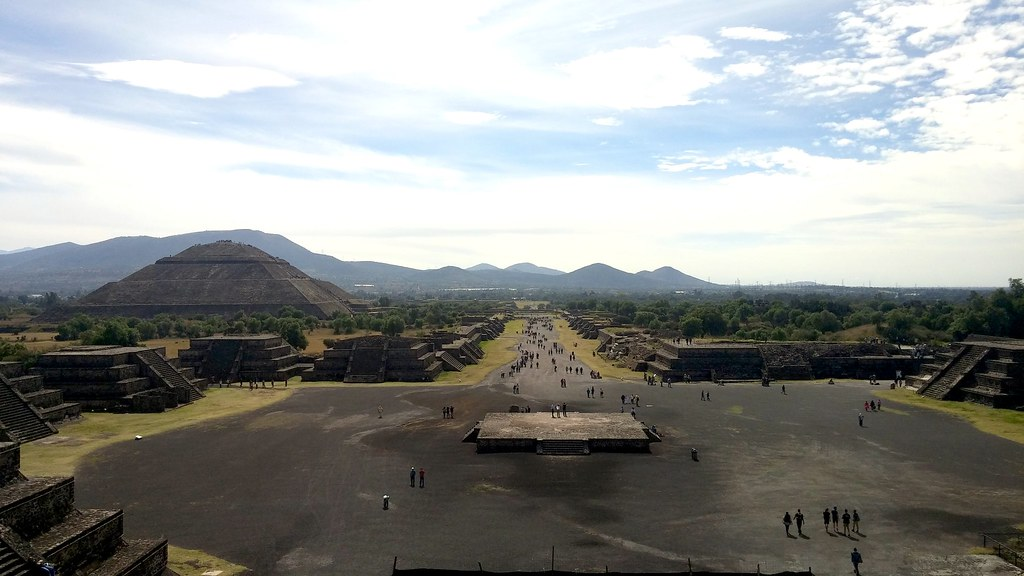 Teotihuacan - Pyramids Overview