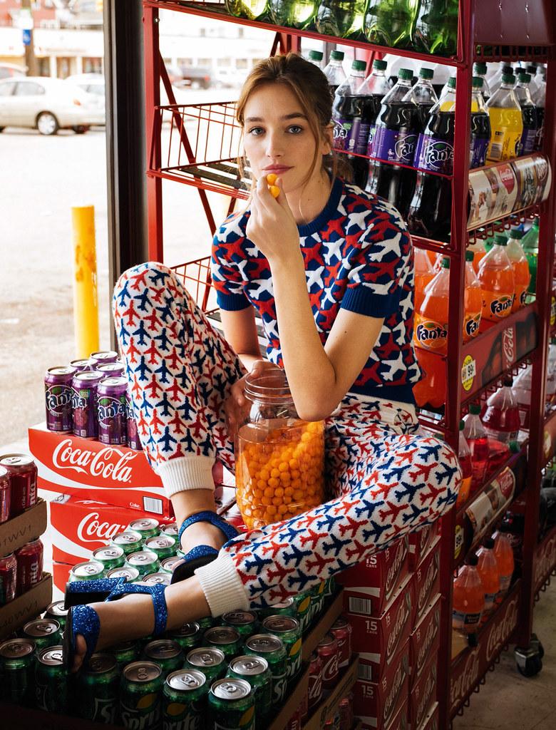 Жозефин Ле Тутур — Фотосессия для «Glamour» FR 2016 – 23