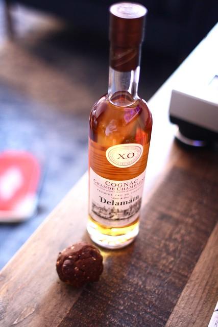 Cognac + Chocolate Bites