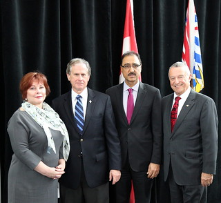 The Honourable Amarjeet Sohi, Minister of Infrastructure and Communities was in Surrey to announce over $73.3million in funding from the federal Gas Tax Fund for 57capital and capacity building projects in communities across British Columbia.