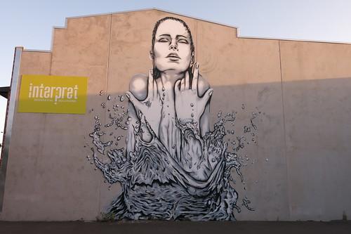 Street art by Deow