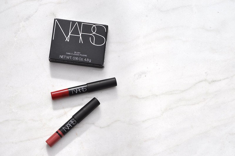 Nars Deep Throat Blush and Lip Pencils