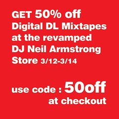 Get 50% off your mixtapes at the Digital DL Store