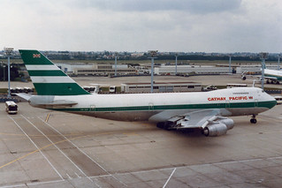 Cathay Pacific Airways Boeing 747-267B VR-HIF