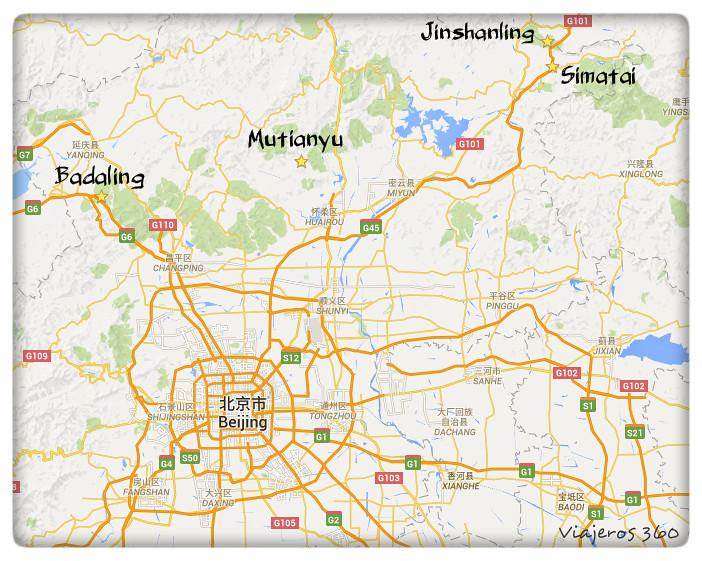 Muralla mapa